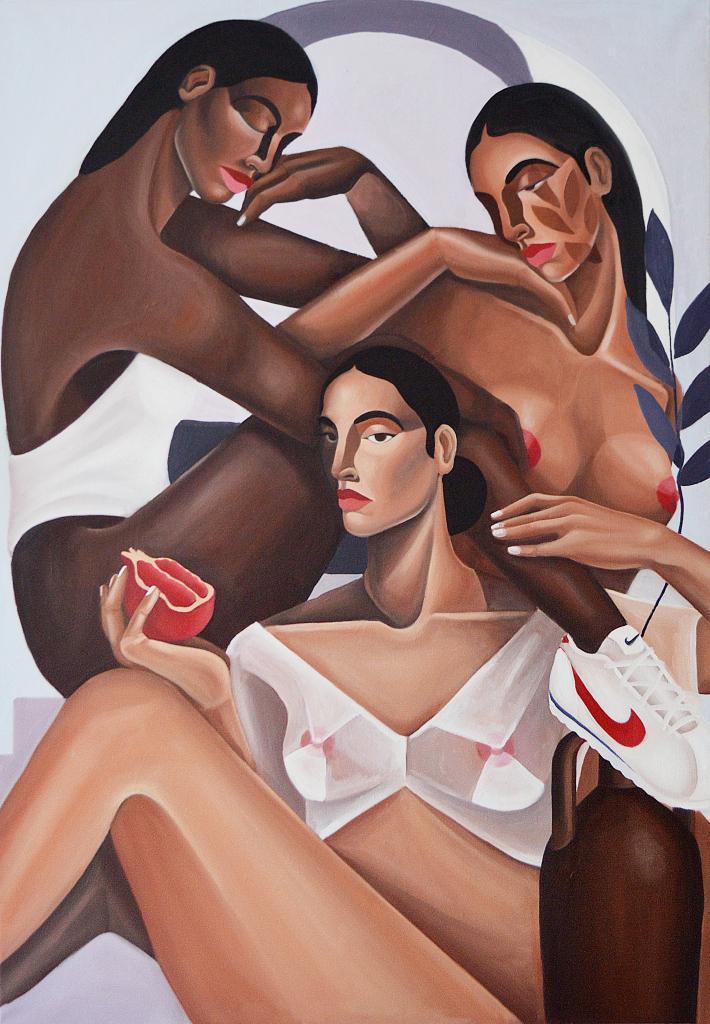 Sophie Dherbecourt, Femmes à la Grenade, 2019